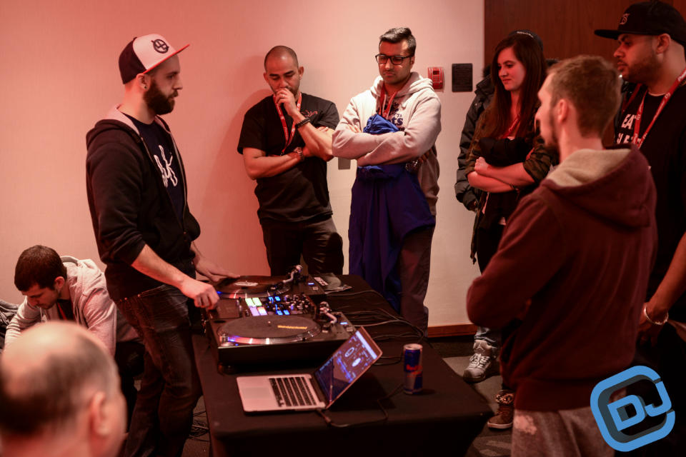 CDJ Show DJ Vekked and DJ Brace Turntablism 101 Seminar