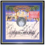 Donna Summer signed #1 Club Chart for